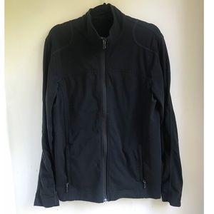 Lululemon Athletic Zip Up Jacket Black Medium